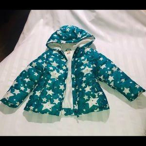 Health Tex Winter zip Front Puffer Cost w/ Hood